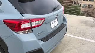 2018 Subaru Crosstrek Cool Gray Khaki Delivery