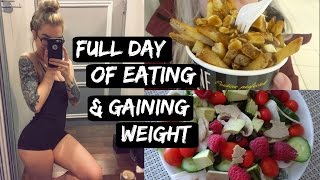One of Jen Brett's most viewed videos: FULL DAY OF EATING // Dealing With Weight Gain