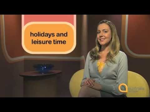 Study English - Series 3, Episode 22: Talking About Holidays and Leisure Time