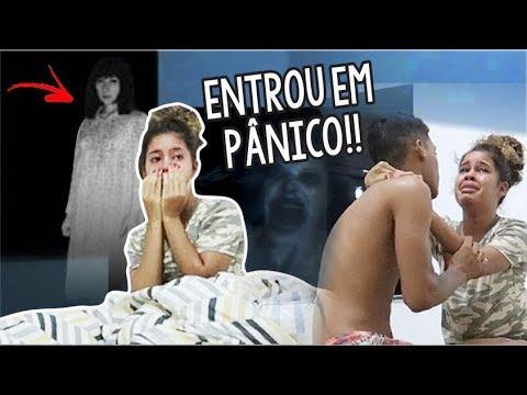 TROLLEI MINHA NAMORADA VENDO ESPÍRITOS NA NOSSA CASA!!
