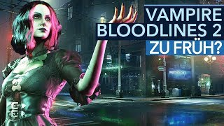 Darum sind die Fans um Vampire: Bloodlines 2 besorgt