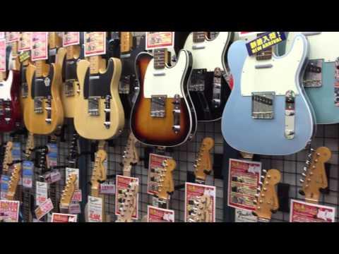 Tokyo Guitar Street Overload! One day in Ochanomizu.