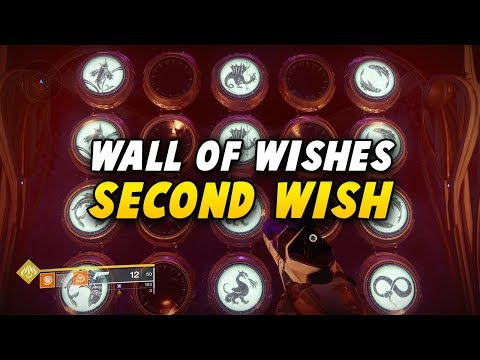 Destiny 2: Wall of Wishes - Second Wish Guide (Spawns Glittering Key Chest)