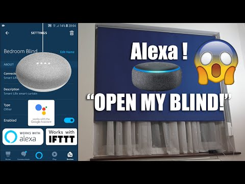 BEST Motorised Smart Blind Engine: Works With Google Home, Amazon Alexa And No Hub Needed