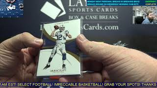 2018 Immaculate & Best of Footbal 2 Box Break for Ryan D