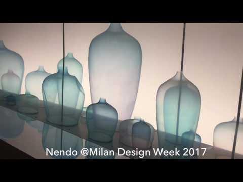 Mesmerizing installation by Nendo at Milan Design Week 2017