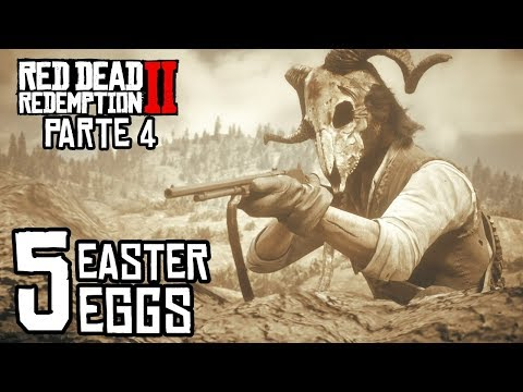 Mas Easter Eggs en Red Dead Redemption 2 - Parte 4 - Jeshua Games thumbnail