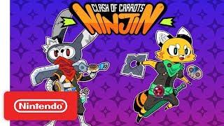 Ninjin: Clash of Carrots - Launch Trailer - Nintendo Switch
