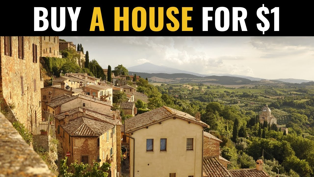 italian town selling homes for $1