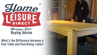What is the Difference Between a Pool Table and Pool Dining Table? - Pool Table Buying Advice