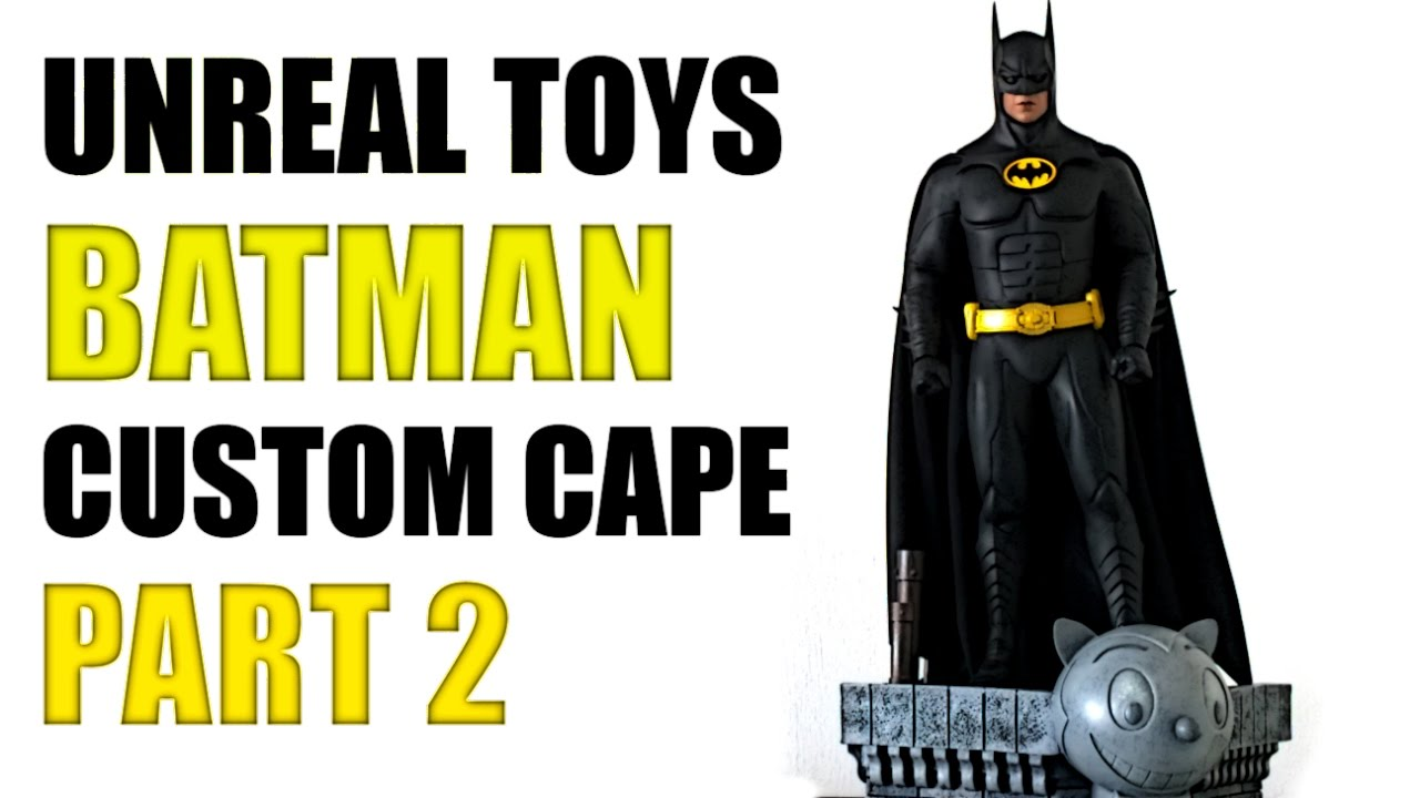 osw.zone Toys custom capes for the Hot toys Michael Keaton Batman 1/6 scale figures. Lik...