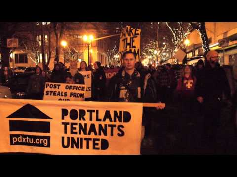 Portland Tenants United: Against Discrimination and Retaliation Housing Justice Rally and March