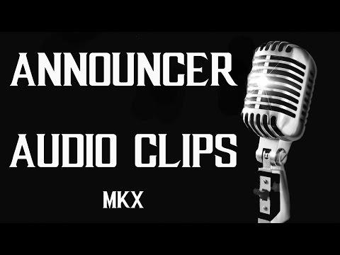 All Announcer Audio Clips - Mortal Kombat X