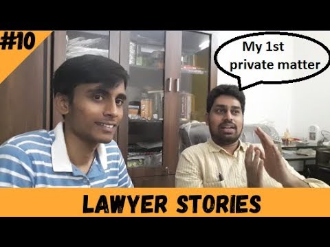 My 1st private matter | Lawyer Stories Ep.10 |