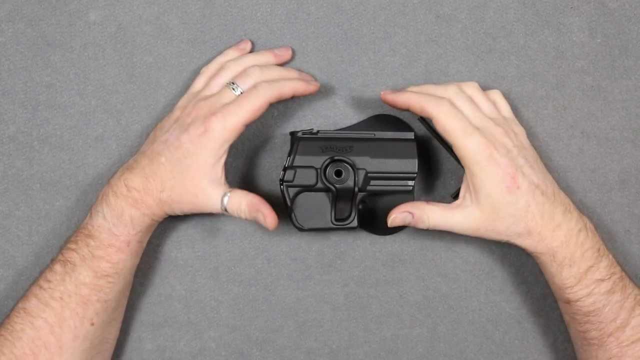 ROTO Paddle-Holster für Walther PPQ M2 Schreckschuss