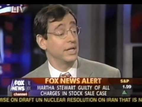 Seth Siegel, The Big Story, Fox News Channel, Martha Stewart - March 5, 2004