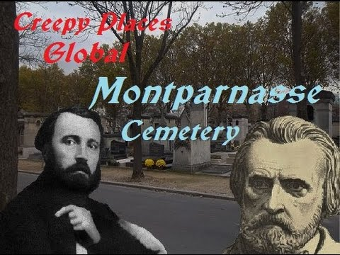 Creepy Places Global: Montparnasse Cemetery
