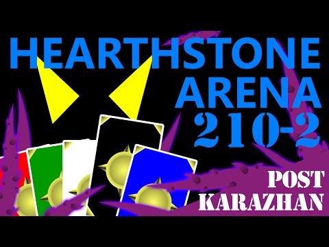 Post-Karazhan Hearthstone Arena #210 Part 2 (Rogue)