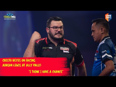"Cristo Reyes on facing Adrian Lewis at Ally Pally: ""I think I have a chance"""