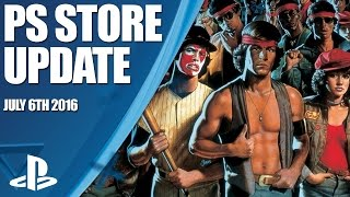 PlayStation Store Highlights - 6th July 2016