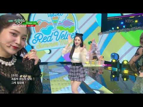 뮤직뱅크 Music Bank - Power Up - 레드벨벳(Red Velvet).20181221