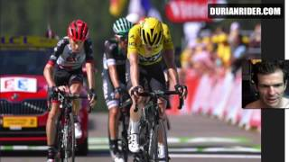 Tour De France Stage 5 2017 Highlights With Durianrider