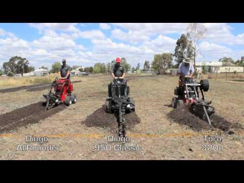 Dingo Vs Toro Trenching Challenge