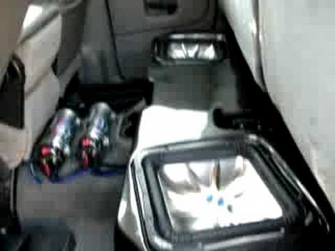 Dodge Ram Bassforms Kicker Subwoofers Youtube