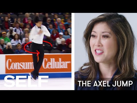Kristi Yamaguchi Breaks Down Figure Skating Moves  SELF