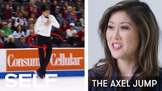 Kristi Yamaguchi Breaks Down Figure Skating Moves | SELF