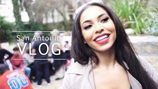 San Antonio Shenanigans!! | VLOG | Chanel Coco Brown