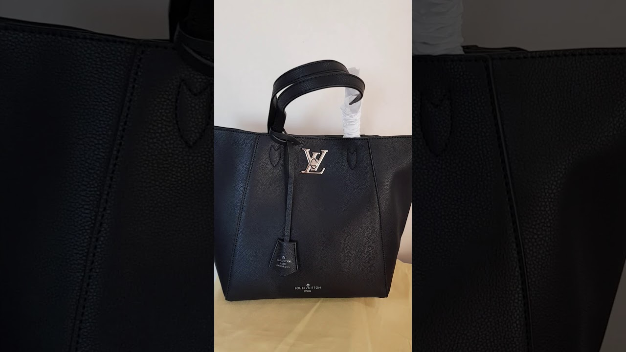 f3e8bd5eae22 Bolsa Louis Vuitton Lockme Cabas M42291 - YouTube