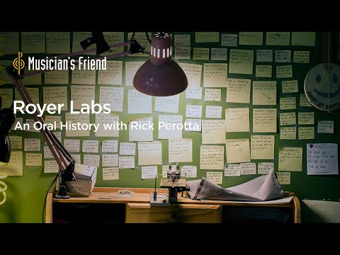 An Oral History of Royer Labs, Ribbon Microphone Builder