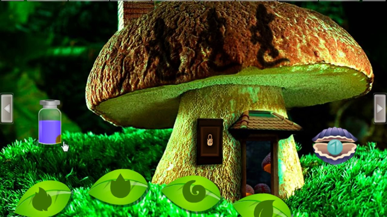 Mushroom Fantasy Forest Escape Video Walkthrough