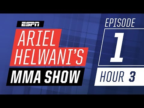 Max Holloway, Rashad Evans, Derrick Lewis [Episode 1/Hour 3]   Ariel Helwani's MMA Show   ESPN