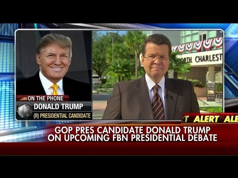 Donald Trump Previews the Fox Business Network GOP Debates
