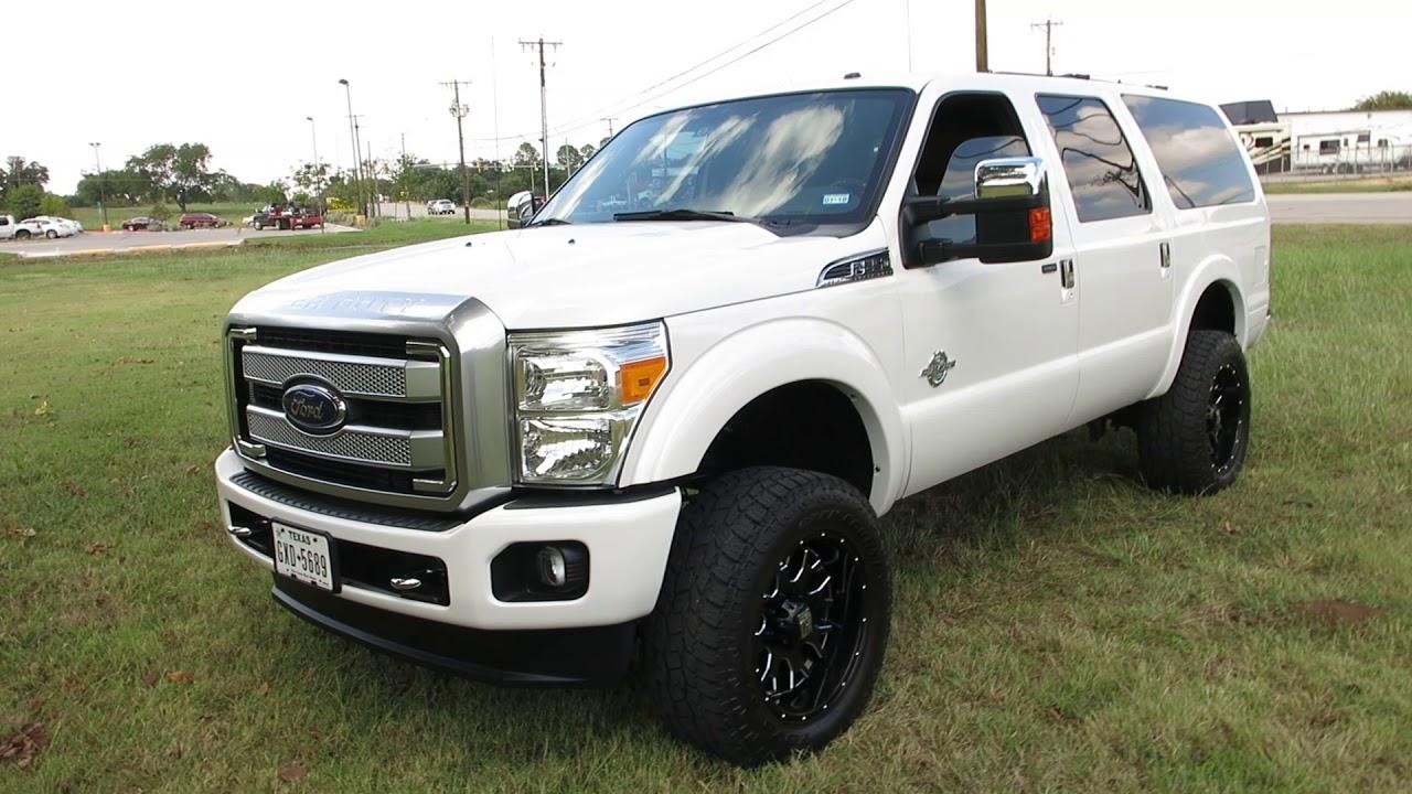 Ford Excursion 2015 >> 2015 F 250 Platinum Excursion 6 7 Liter Diesel 4x4 Entertainment