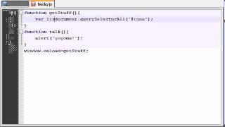 HTML5 Tutorial - 26 - querySelectorAll