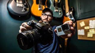 GoPro Hero 7 Vs. DSLR Raw Photo Comparison. (Dusk White)