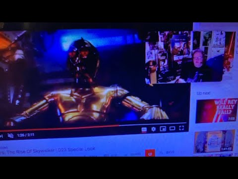 Star Wars Episode 9 Trailer Live Talk With Jessica Dwyer And You Zennie62 YouTube
