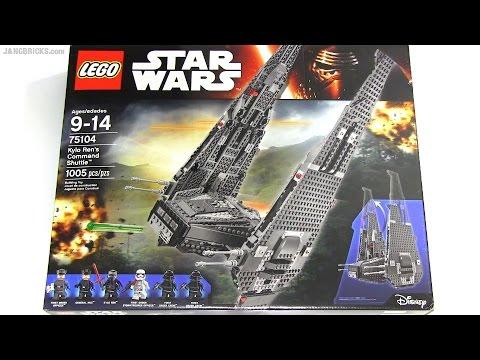 Speedy build: LEGO Star Wars Kylo Ren's...