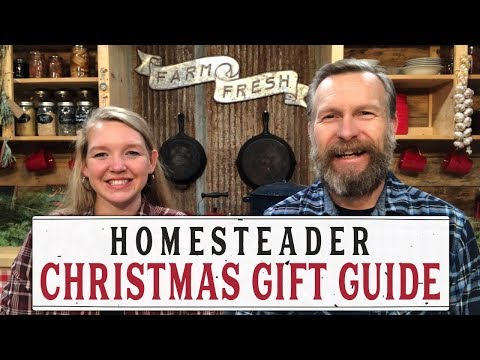HOMESTEADER CHRISTMAS GIFT GUIDE - PANTRY CHAT #33