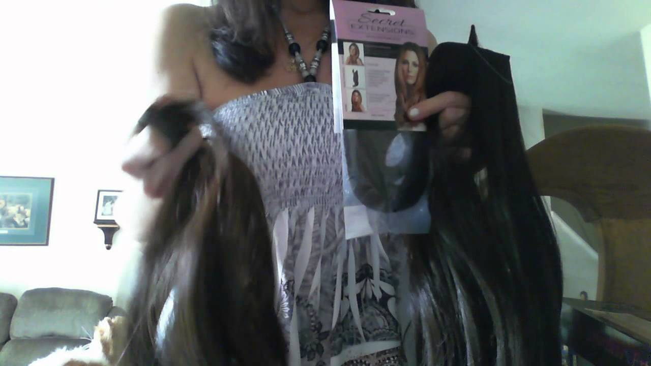 hair extension review secret extensions  effortless extensions youtube