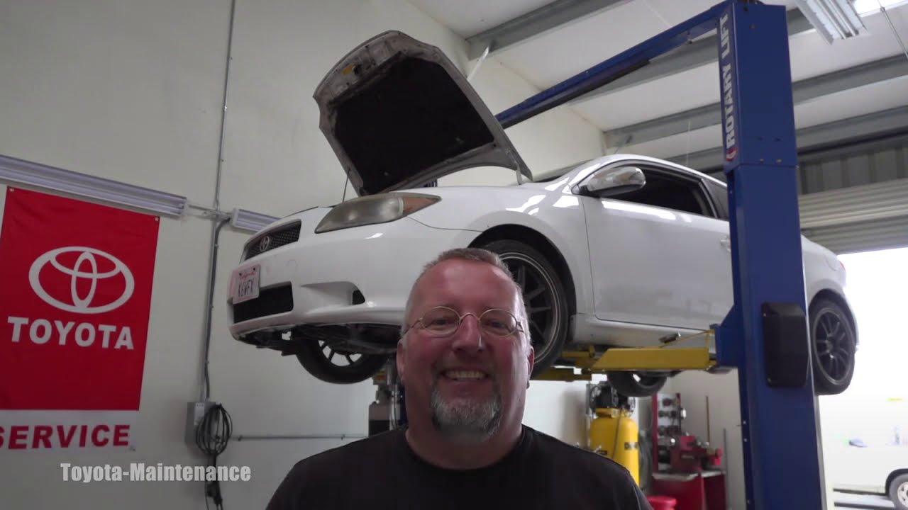Scion TC manual transmission gear oil change