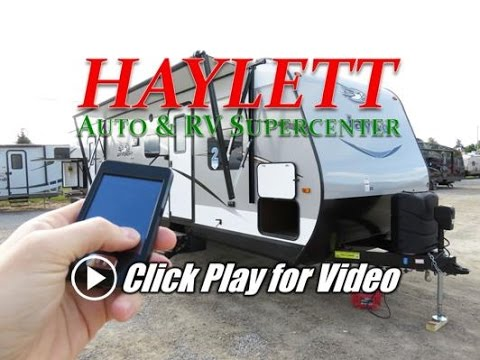 HaylettRV.com - 2017 Jayco Jay Flight 32BHDS Outside Kitchen Bunkhouse Travel Trailer