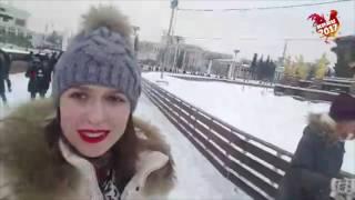 Каток на ВДНХ - Одно из самых популярных мест в зимние каникулы