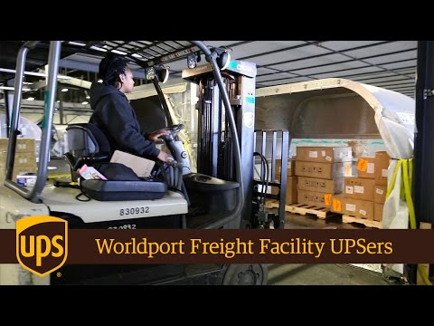 Worldport Freight Facility's Proud UPSers
