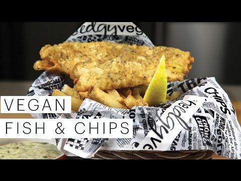 Vegan Recipe: Fish And Chips | Edgy Veg