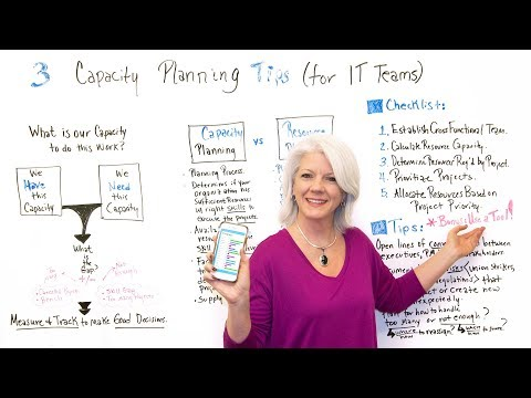 3 Capacity Planning Tips for IT Teams - Project Management Training