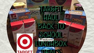 8/16/16:  Target Lunchbox Deals....Savings for Back to School!(I love these stock-up deals on lunch box goodies going on at Target! Great deals that you simply just can't pass up on! Get all your coupon match-ups for each of ..., 2016-08-17T11:45:34.000Z)